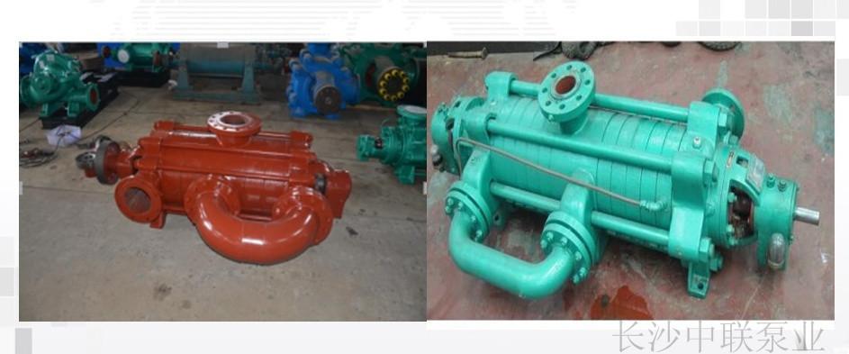 单边过渡管和双边过渡管自平衡多级泵对比