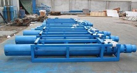 矿山排水专用泵-ZLQK系列粗短矿用潜水泵-图片
